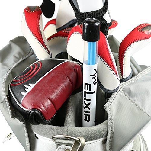 Elixir Golf Tour Golf Alignment Sticks Swing Plane Putting Drills, Aim, Ball Position, Pack of 2 (Blue), GTS-BL