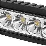 2pcs DY1918 18W 10-30V Car Spotlight Headlamp 6