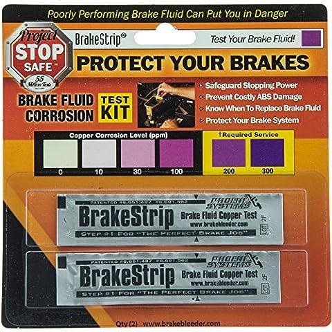 Phoenix Systems (3003-B) Brake Fluid Test Strips, 2 Strips Per Package, Reveals Brake Fluid (2004 Gmc Envoy Brakes)