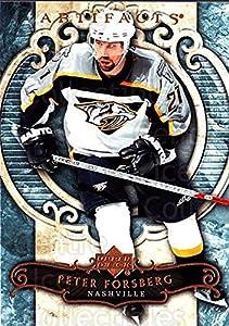 (CI) Peter Forsberg Hockey Card 2007-08 UD Artifacts (base) 66 Peter Forsberg