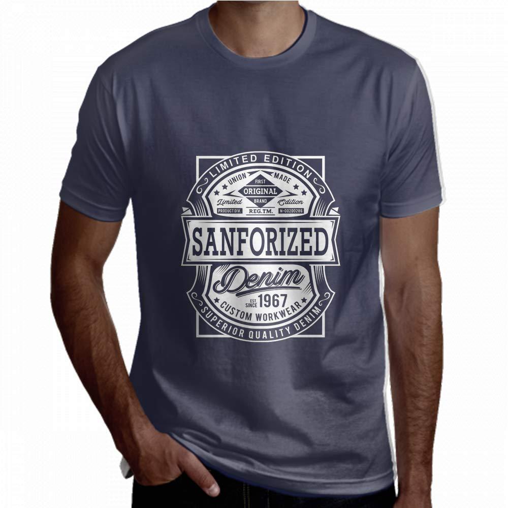 Tees Men Vintage Raw Typography Tshirt Short Sleeve Ladies Shirt Short Sleeve