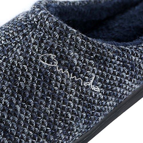 Pantofole Infradito Uomo Mens Infradito Per Uomo Indoor Blu Intenso