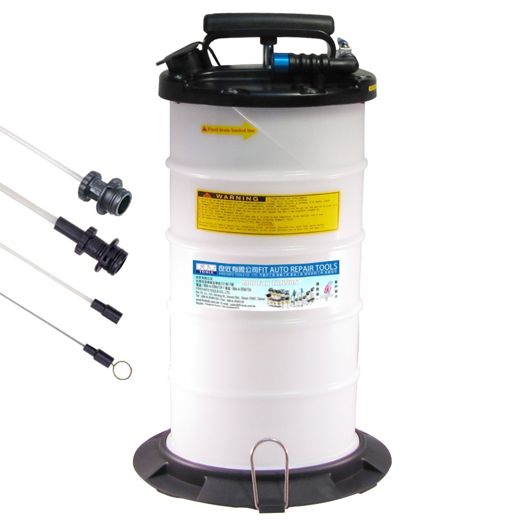 FIT TOOLS 9.5L Pneumatic and Manual Operation Oil or Fluid Extractor