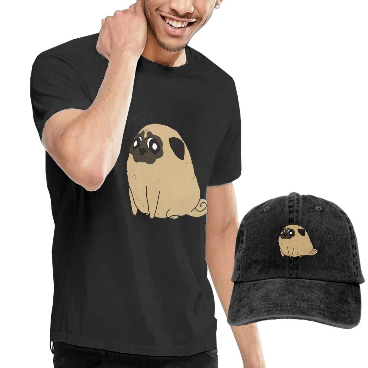 QqZXD Pugtato Fashion Mens T-Shirt and Hats Youth /& Adult T-Shirts