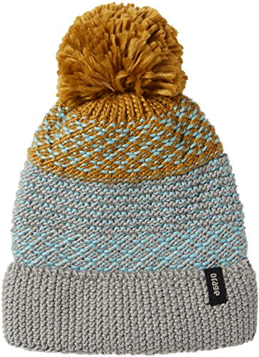 Orage Girls June Beanie, Heather Grey, Medium