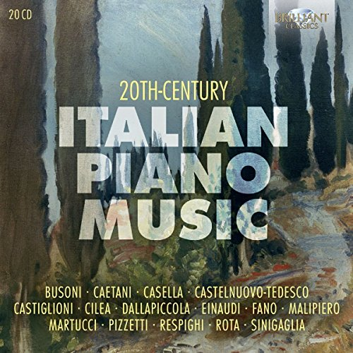 20th Century Italian Piano Music (Mario Bartoli)