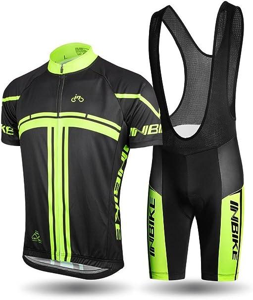 Cycling Jersey Men Bike Shirt Short Sleeve Fast Drying Full Zip Cycle Sportswear