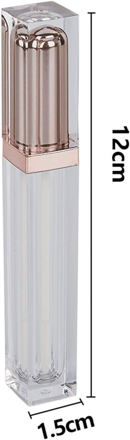 Les Voyages daffaires Schneespitze 6 Pi/èces 7ml Vide Lip Gloss Tube Brillant /À L/èvres Conteneurs,DIY Maquillage Outils Cosm/étique Conteneur,pour Les Voyages