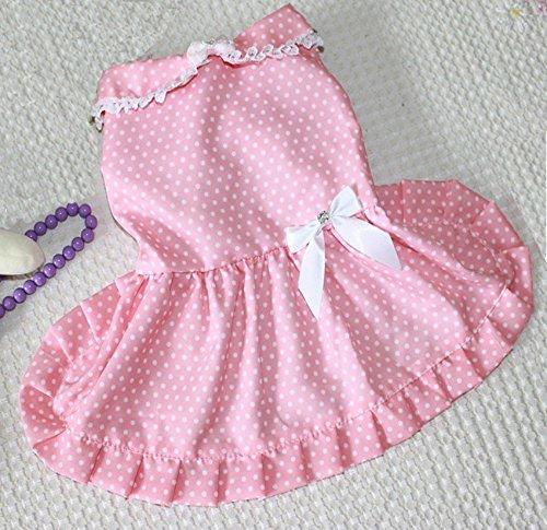 Namsan Dog Pink Princess Dress Stylish Skirt For Small or