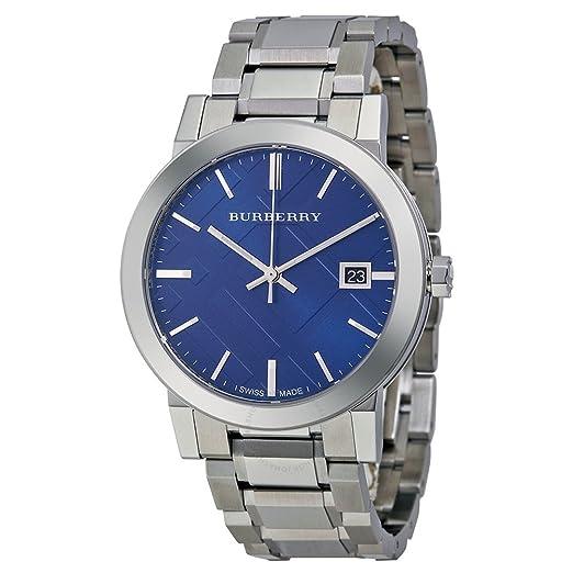 cd0f350c3cf3 [バーバリー]BURBERRY ウォッチ 腕時計 シンプル BU9031 ブルー ファッション メンズ レディース [並行輸入品