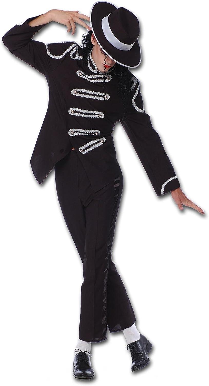 Disfraz Adulto REY DEL POP (Michael): Amazon.es: Juguetes y juegos