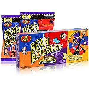 Jelly Belly  Bean Boozled Set Glücksrad plus zwei Tüten Beans, 1er Pack (1 x...