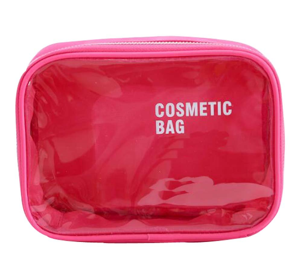 Amazon.com: DRAGON SONIC Fashionable Cosmetic Bag Beautiful and Practical Makeup Bag Storage Bag, Pink: Home & Kitchen