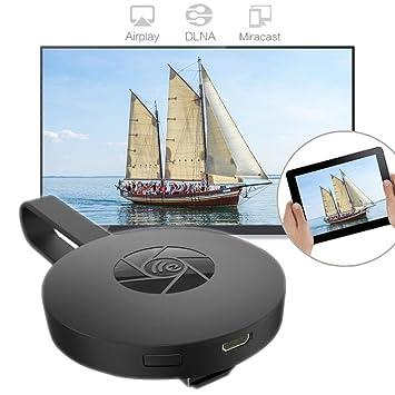 TAOtTAO para transmisor de vídeo con HDMI digital de segunda generación Miracast Chromecast 2: Amazon.es: Deportes y aire libre