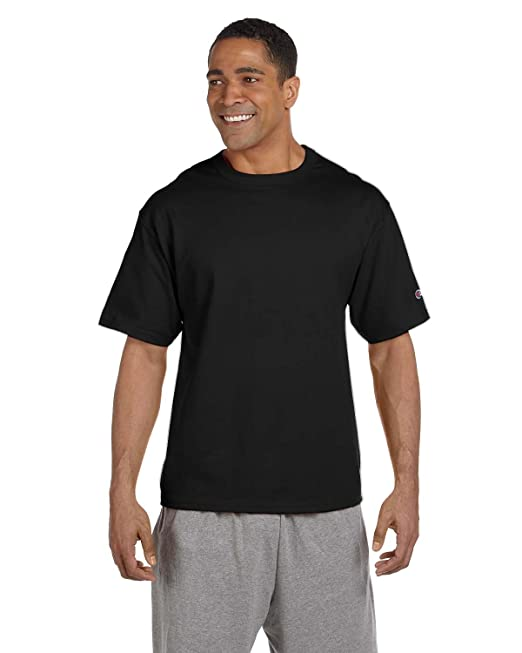 Champion Mens Blank Cotton Heritage Jersey T Shirt Tee T105 up to 3XL