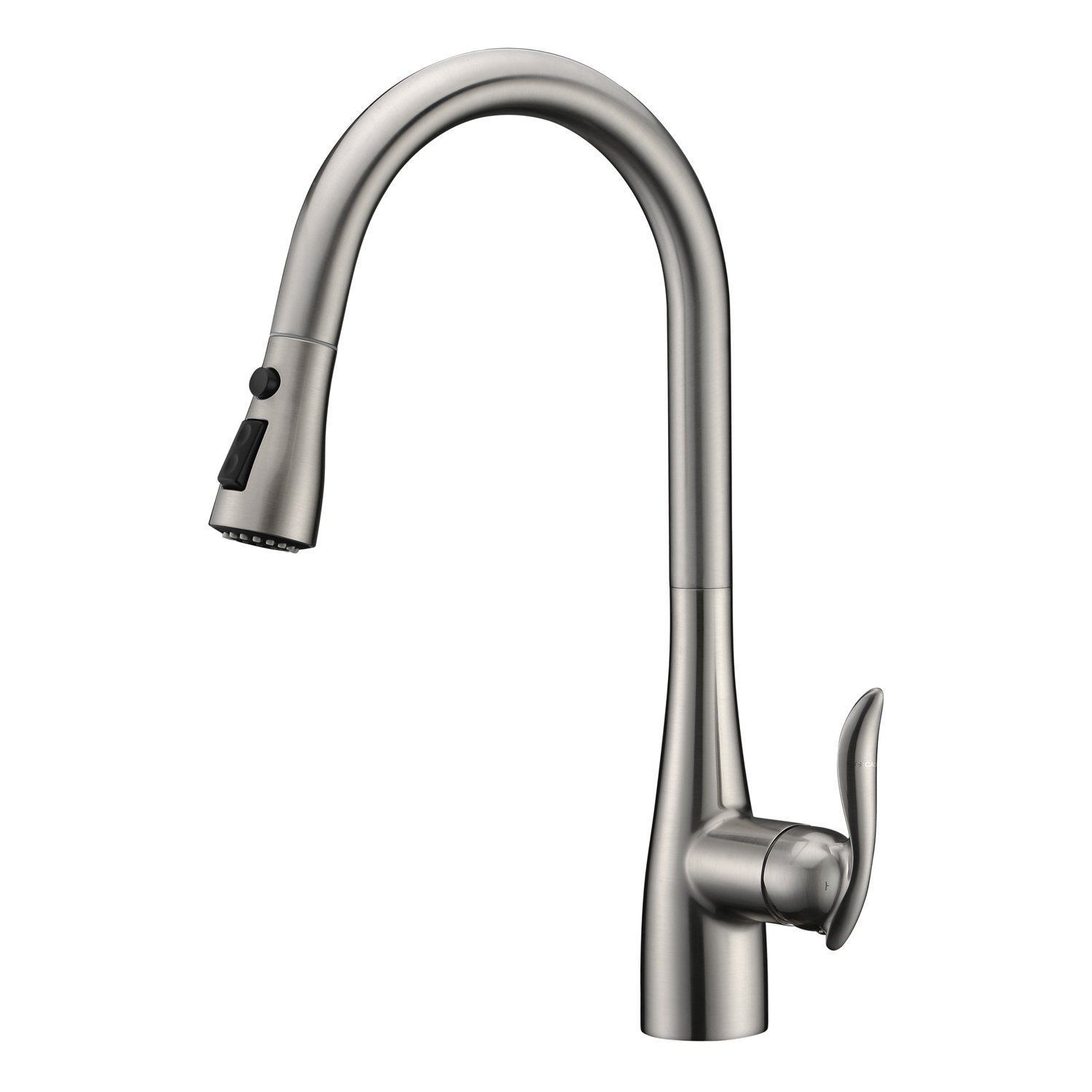 GICASA Faucet Best Modern Stainless Steel Single Handle Pull Down ...