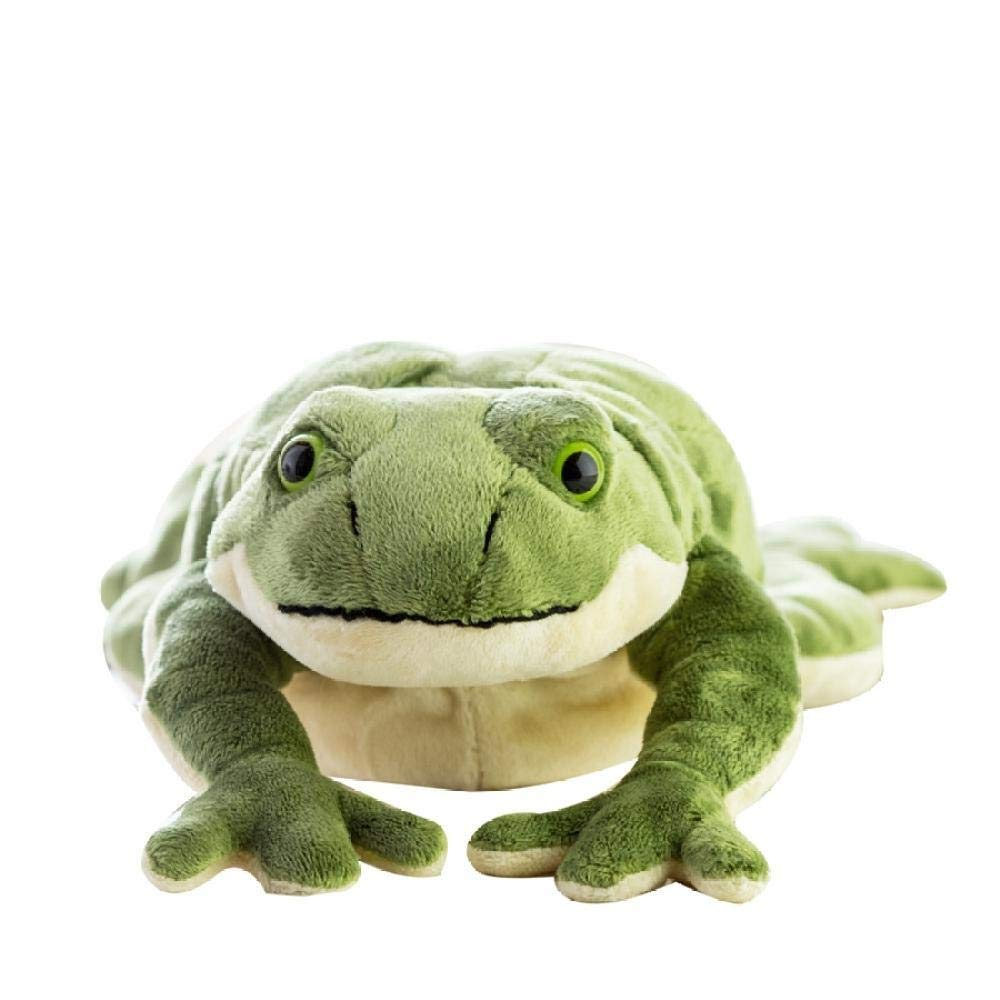 New Funny Simulation Animal Plush Toy Big Plush Cartoon Green Doll Pillow Gift Zhaozb (Color : Green) by Bayue
