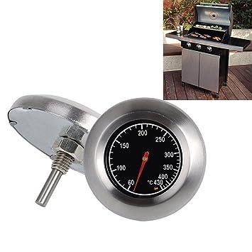 horno leña bimetálico y horno horno barbacoa termómetro analógico: Amazon.es: Hogar