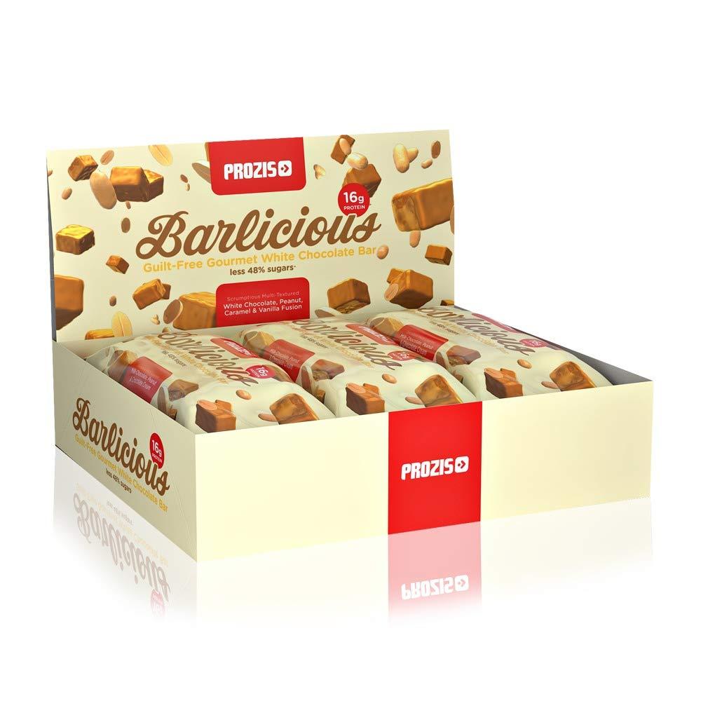 Prozis Barlicious Protein Bar, Chocolate Blanco - 6 Unidades: Amazon.es: Salud y cuidado personal