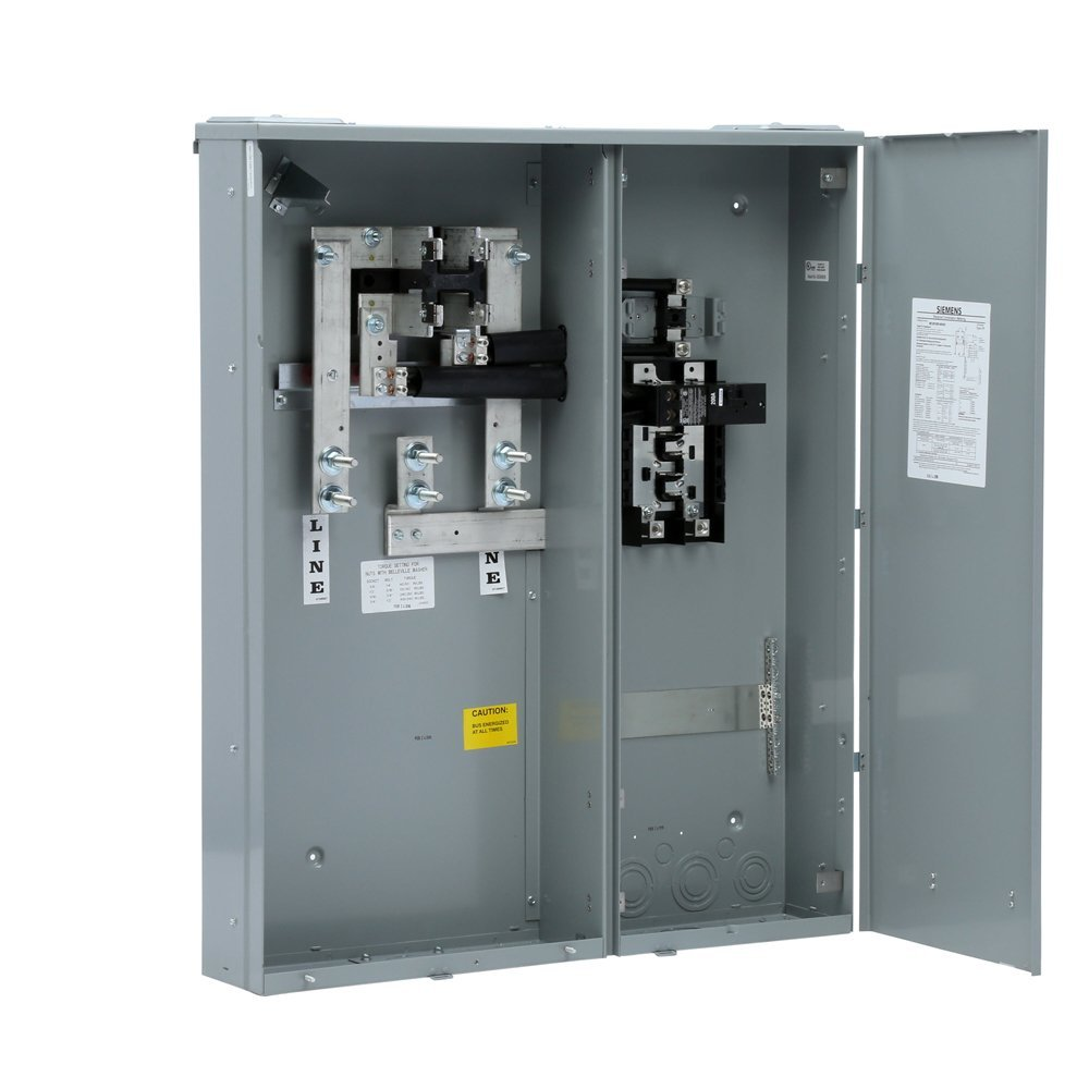 Siemens Mc0816b1400sc Meter Load Center Combination 8 Space 16 Improvement Electrical Breakers Centers Fuses Circuit 400 Amp Main Breaker Surface Mount Panels Tools Home