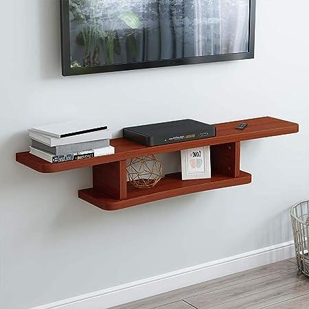 SLMY - Mueble de Pared para televisor sin Costuras y sin Perforaciones, Apto para salón, Dormitorio, partición, Caja de Almacenamiento, Aleación, D, Large 0.00watts: Amazon.es: Hogar