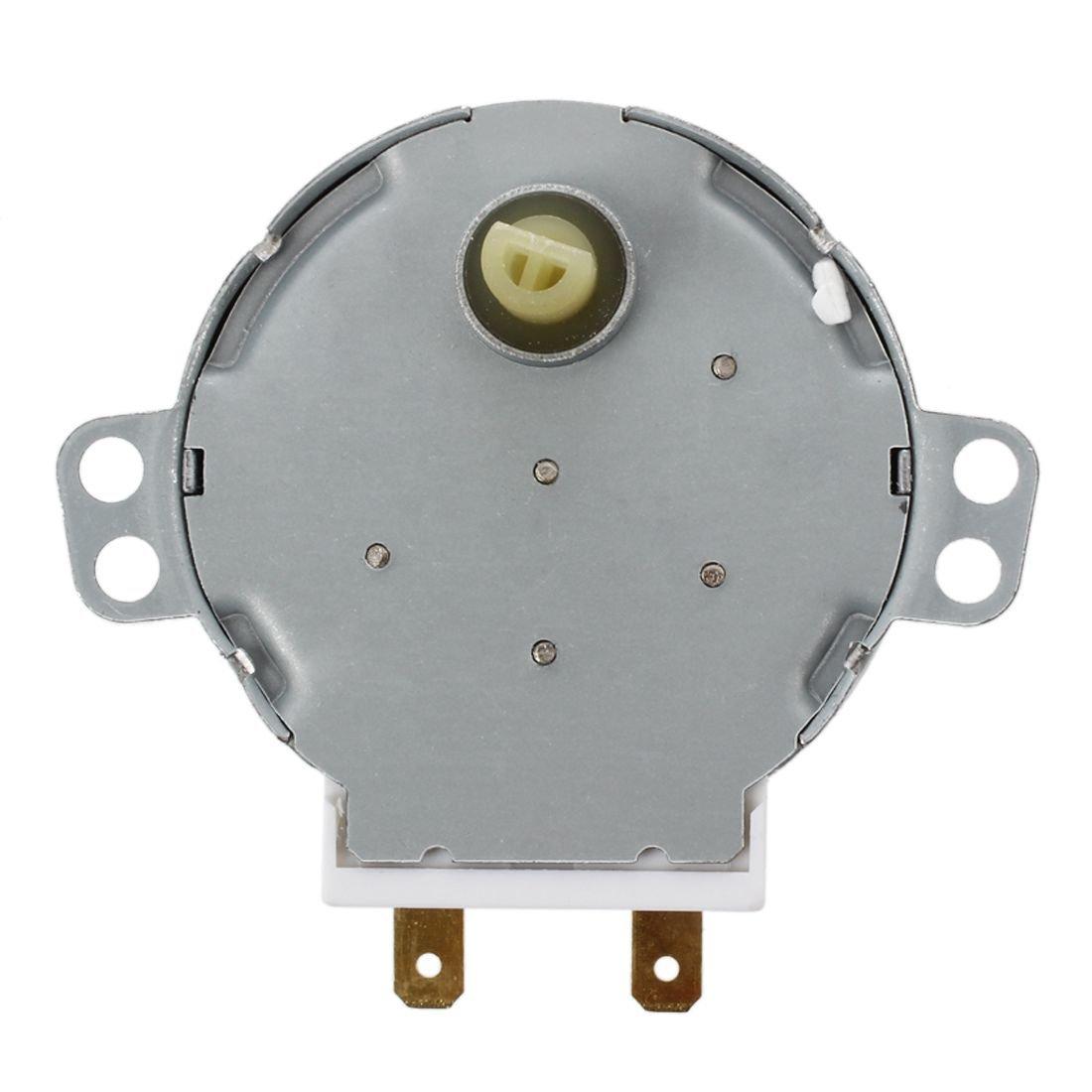 6RPM AC 240V WOVELOT Motor sincronico de la plataforma giratoria del horno de microonda CW//CCW 4W 5