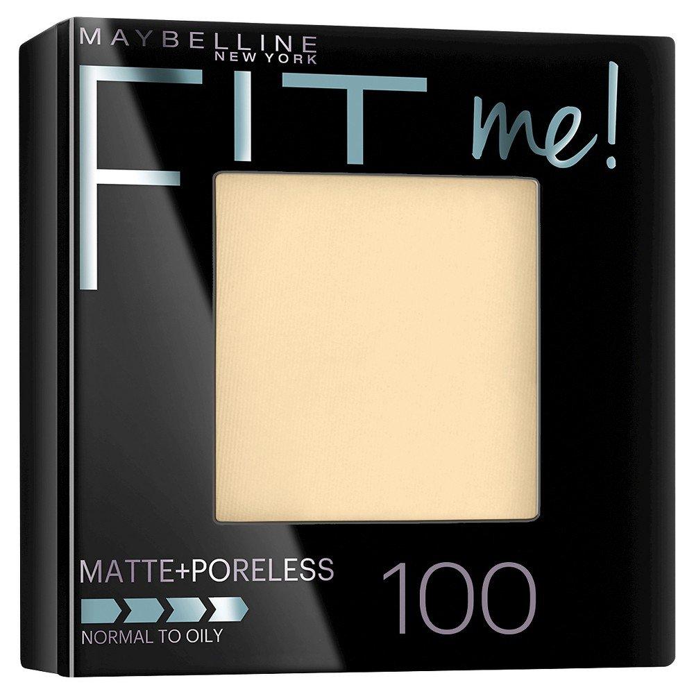 Maybelline New York Fit Me Matte Plus Poreless Powder, Translucent, 0.29 Ounce