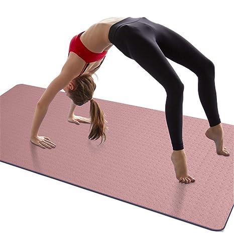 RPOLY Colchoneta de Yoga Antideslizante, Caucho Natural No ...