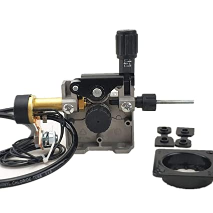 Alimentador de alambre, Ensamblaje de alimentación de alambre de soldadura DC 24V / 12V,