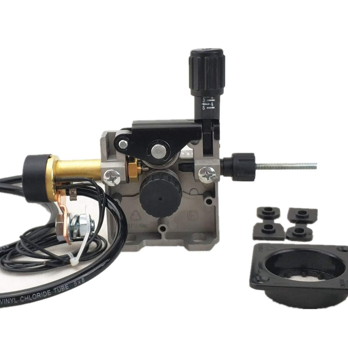 Wire Feeder, DC 24V/12V Welding Wire Feeding Assembly, for MIG/MAG Welder Welding Machine (DC 24V Version)