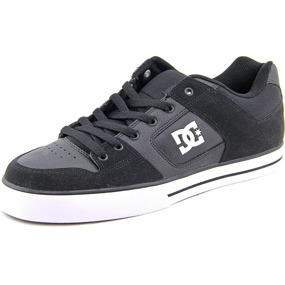 DC Shoes Men's Pure Shoes Black / Black / White 11
