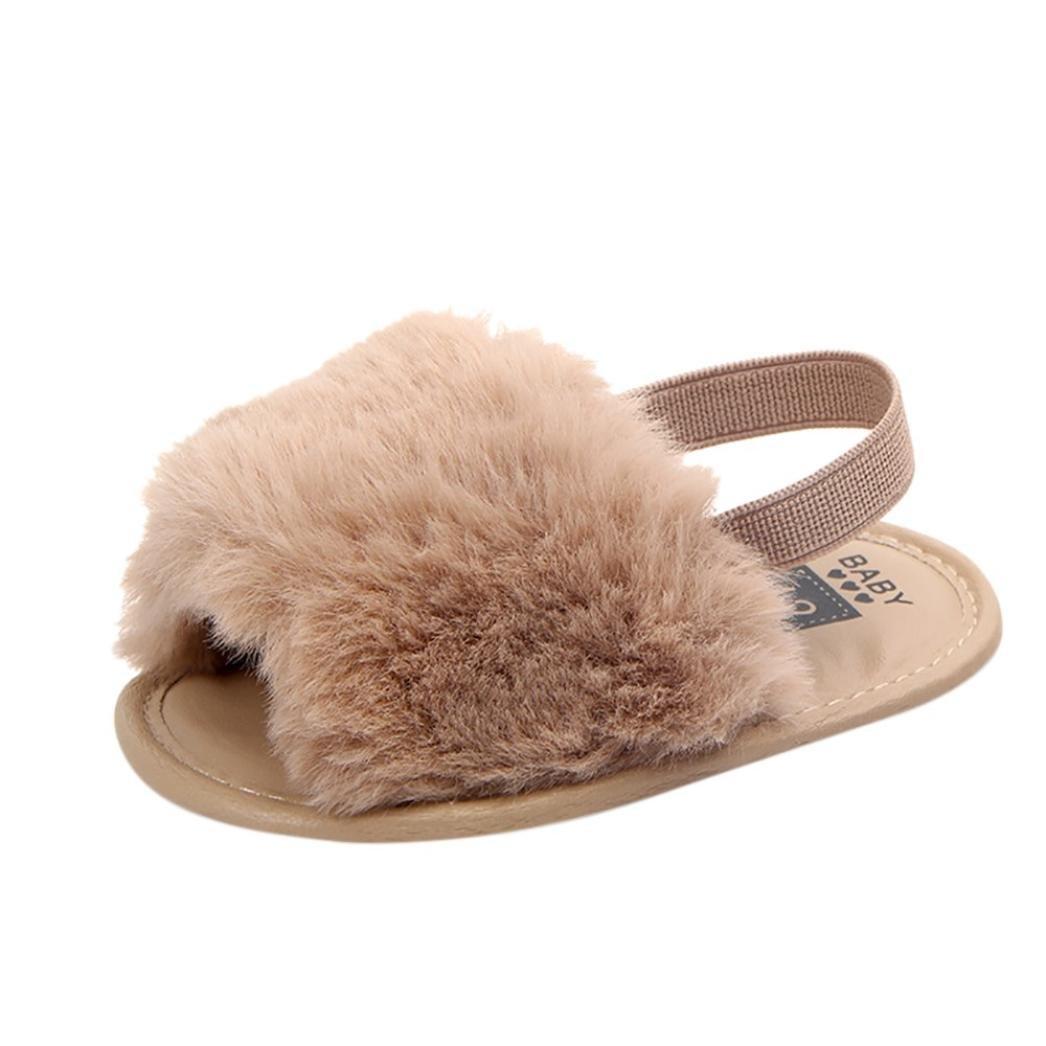 DAY8 Sandales Fille B/éb/é Princesse Mode Chaussure B/éb/é Fille Bapteme /Ét/é Pas Cher Chaussures B/éb/é Fille Premier Pas Sandales Bout Ouvert B/éb/é Fille Naissance Anti-Glissant