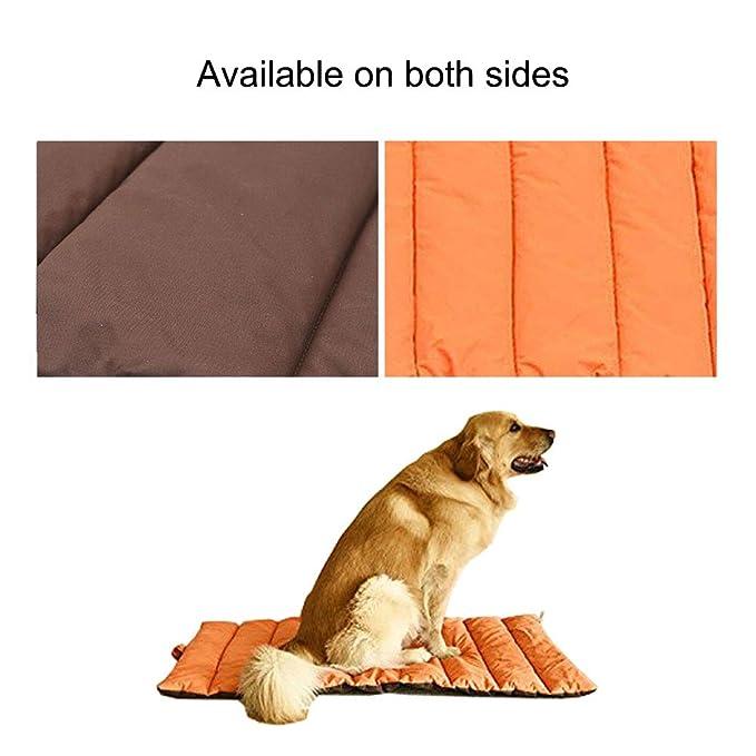Cama de la estera de los animales domésticos, Colchón impermeable de Cushion, Las mantas grandes suaves para perros gatos cubren la almohadilla, ...
