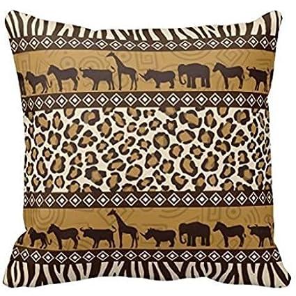 amazon com cottonhouse african animals and leopard wraparound print