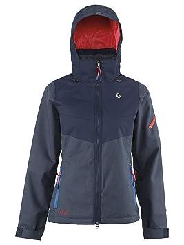 Scott Mujer Función chaqueta, invierno, mujer, color - denim/navy, tamaño