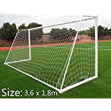 Sloth Baby Mini Soccer Net Portable Football Net-Durable and Quick Set up-for Courtyard, Football Field Soccer Sports Training 12 x 6 ft (Net Only, Frame not Included)