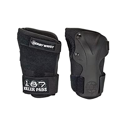 187 Killer Pads Derby Wrist Guard - Black