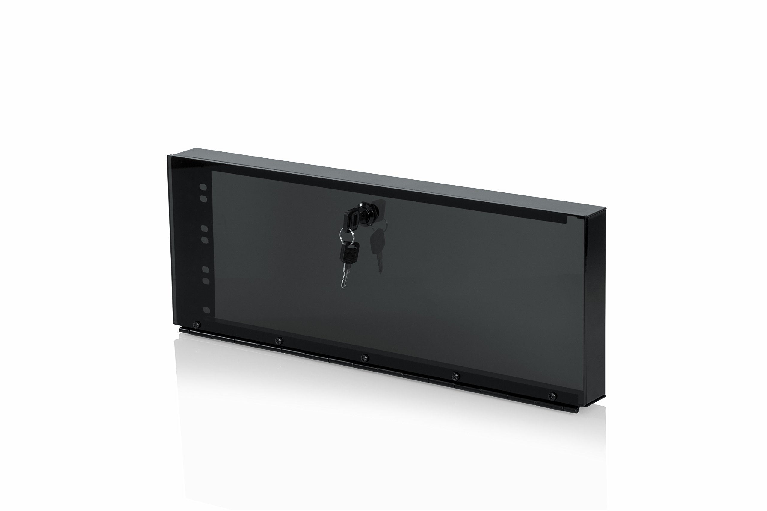 Gator Rackworks Rack Mount Hinged Plexi Security Panel; 4U Size (GRW-PNLSECPLX-4) by Gator (Image #1)