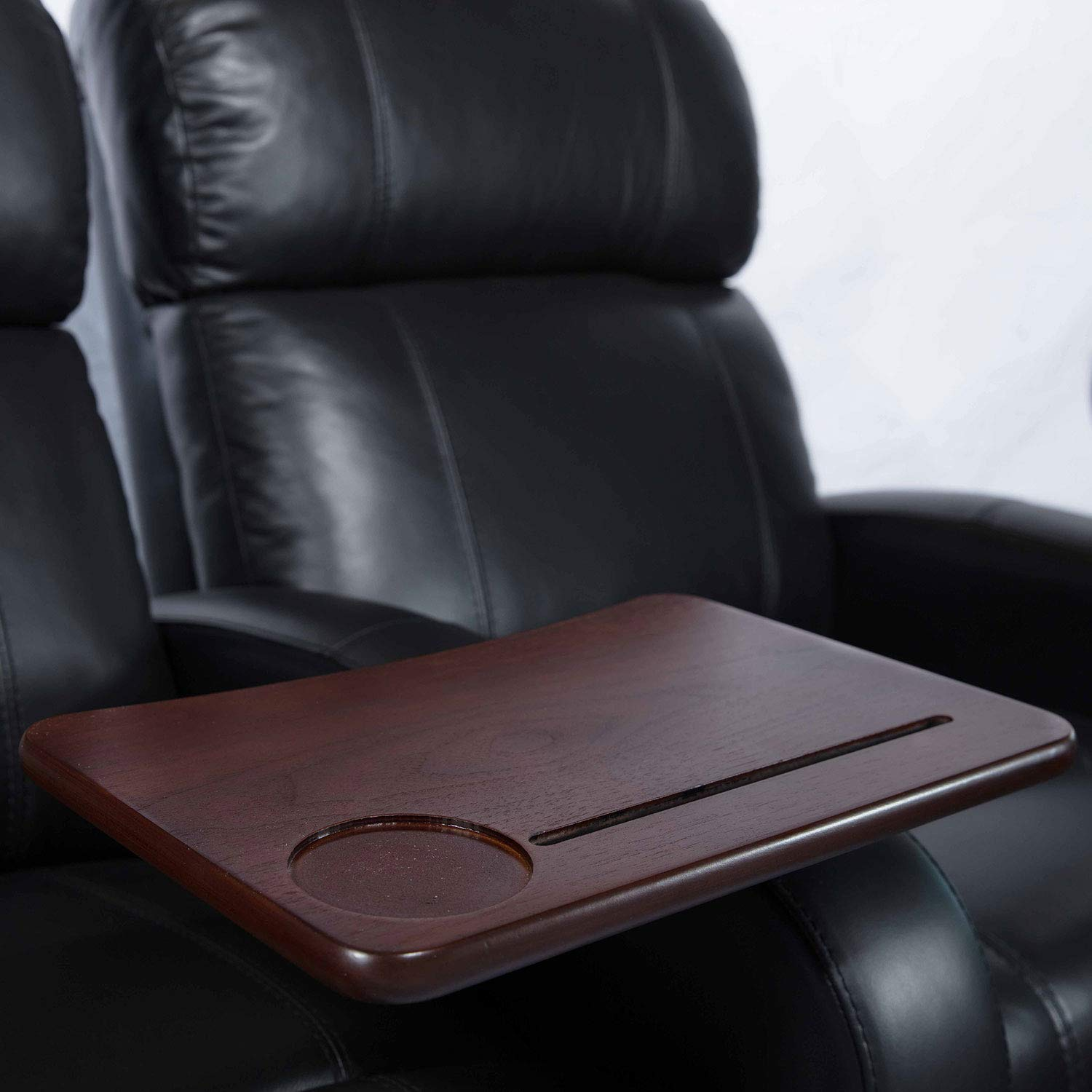 Octane Seating Walnut Swivel & Lap Table by Octane Seating (Image #2)