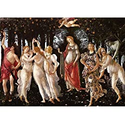 Botticelli - Primavera, Size 24x36 inch, Poster art print wall décor