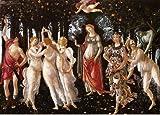Botticelli - Primavera, Size 16x24 inch, Poster art print wall décor