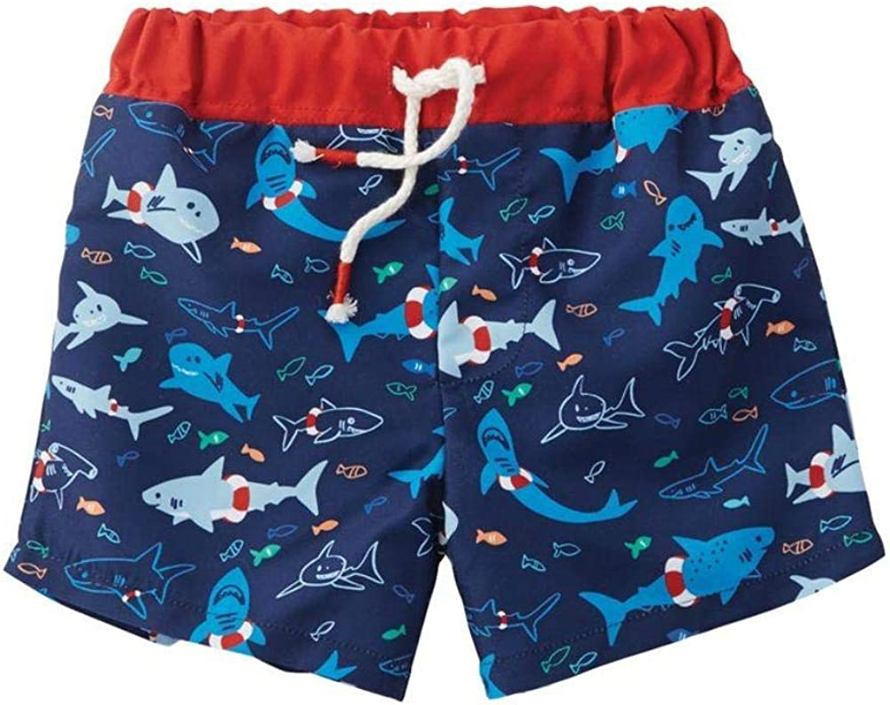 Mud Pie Baby Boys Shark Swim Trunks