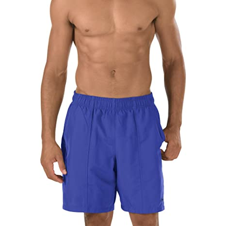 Amazon Speedo Mens Solid Rally Volley 19 Inch Workout Swim