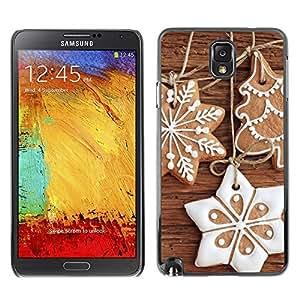 YOYO Slim PC / Aluminium Case Cover Armor Shell Portection //Christmas Holiday Gingebread Decorations 1138 //Samsung Note 3