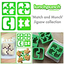 Lunch Punch Puzzle Shape Sandwich Cutters (Set of 4)