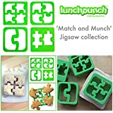 Lunch Punch Sandwich Cutters, Set of 4, Puzzle Shape