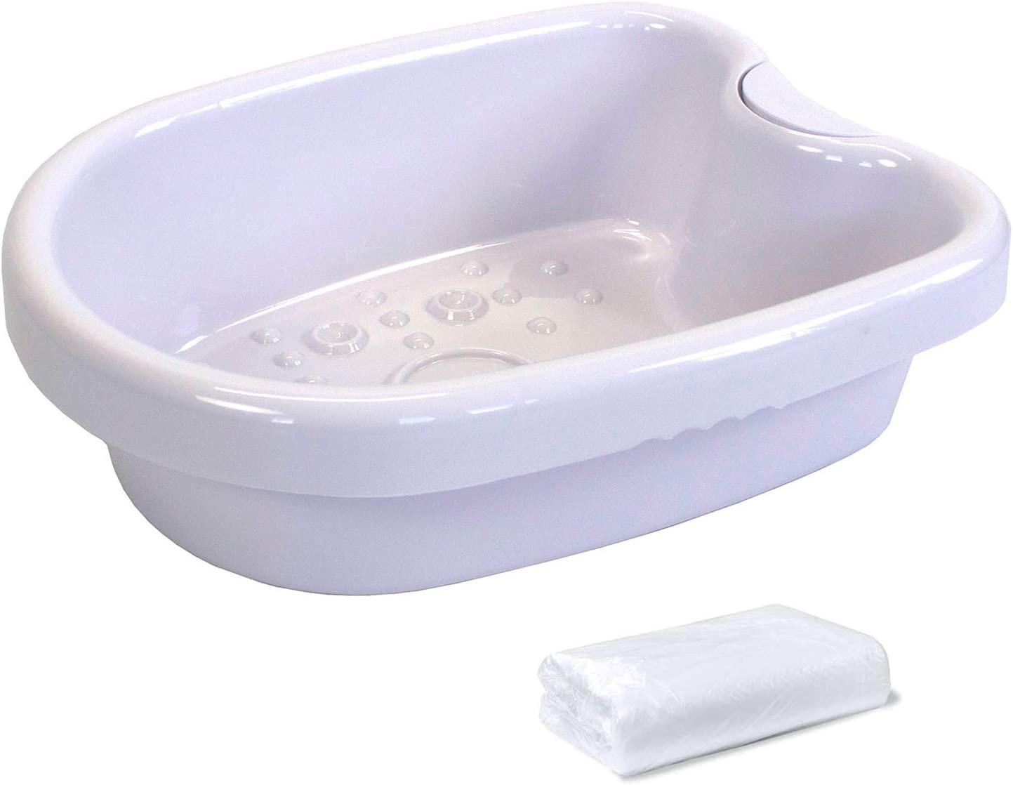 Ionic Foot Bath Tub Basinfor Ionic Detox Machine, Foot Bath Spa Water Spa and Foot Massage Tube for Foot Bath, Soak, or Detoxwith 100 Liners