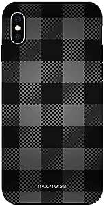 Macmerise IPCIXMTMI0344 Checkmate Black - Tough Case for iPhone XS Max - Multicolor (Pack of1)