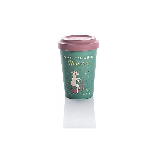 Taza de cafe para llevar Unicornio (Time for Unicorns): Amazon.es ...