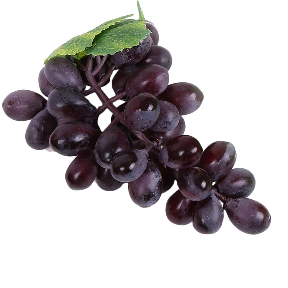 Lifelike Plastic Grapes Home Office Shop Wedding Party Decor Photography Prop Green SoundsBeauty Artificial Fruit